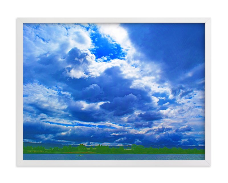 """""""Stormy clouds"""" - Art Print by NSMARK in beautiful frame options and a variety of sizes."""