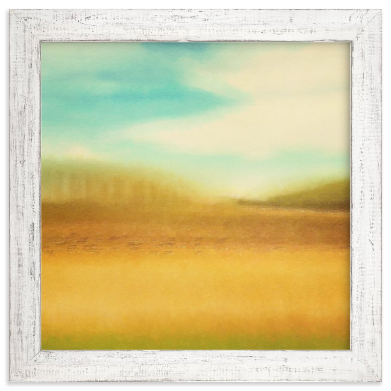 """Wild Blue Yonder"" - Art Print by Stacy Kron in beautiful frame options and a variety of sizes."