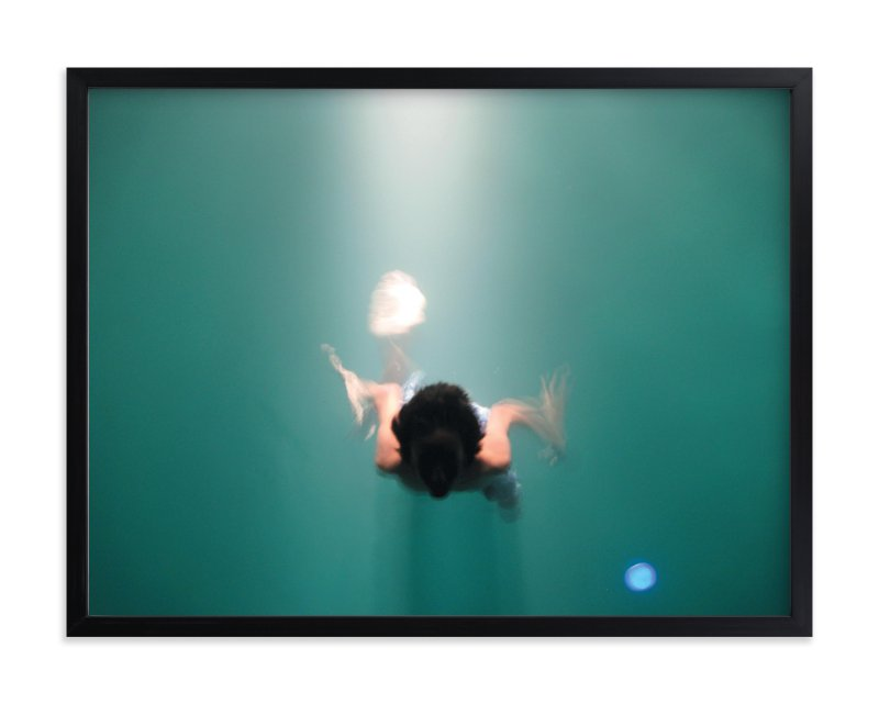 """Pool Illumination"" - Art Print by Georgia Tankard in beautiful frame options and a variety of sizes."