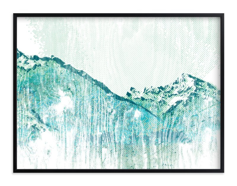 """Escape "" - Art Print by SimpleTe Design in beautiful frame options and a variety of sizes."