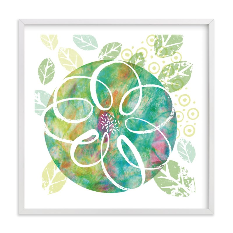 """Botanical Collage"" - Art Print by Laura Bolter Design in beautiful frame options and a variety of sizes."