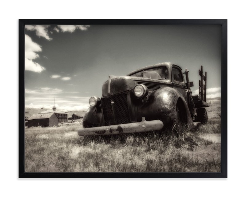 """Bodie, Califorina :: I"" - Art Print by Kellie Medivitz in beautiful frame options and a variety of sizes."