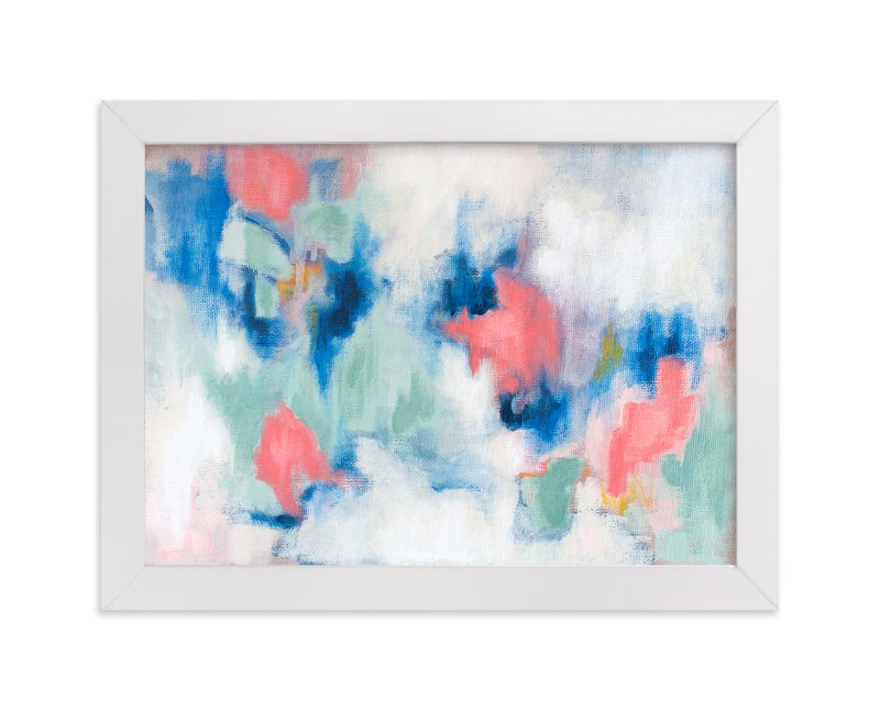 """""""Spring Rain"""" - Art Print by Lorent and Leif in beautiful frame options and a variety of sizes."""