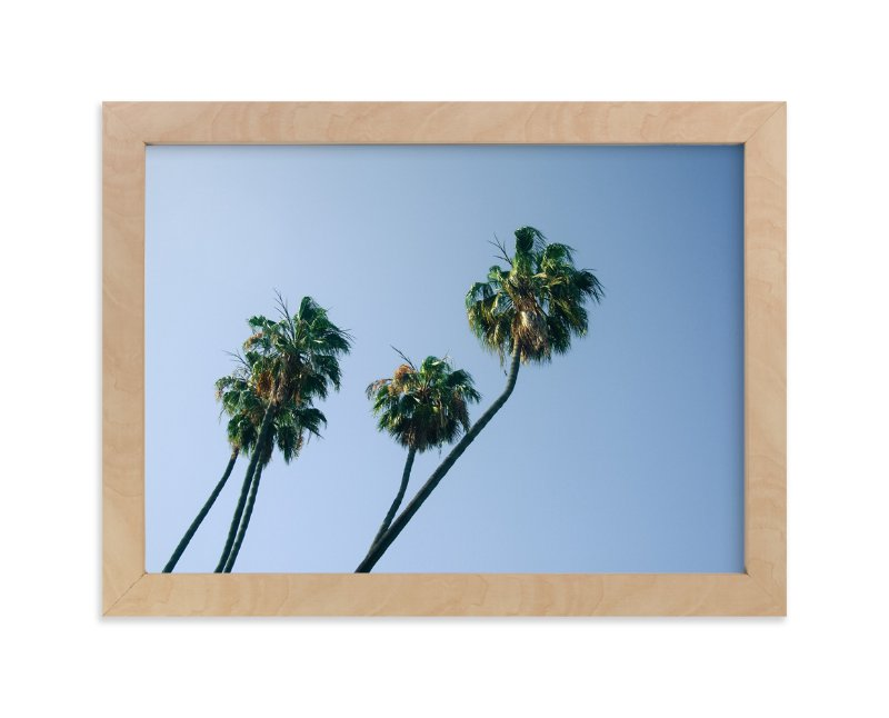"""Palm Lean"" - Limited Edition Art Print by Alexandra Nazari in beautiful frame options and a variety of sizes."
