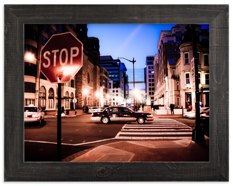 """City Slicker"" - Art Print by Amanda Miller in beautiful frame options and a variety of sizes."