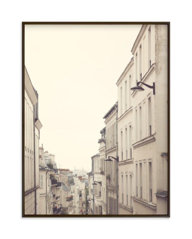 """""""Montmartre Unique Perspectives"""" - Art Print by Caroline Mint in beautiful frame options and a variety of sizes."""