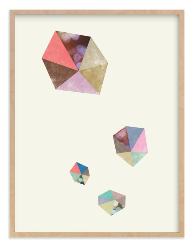 """Bejeweled"" - Art Print by Four Wet Feet Studio in beautiful frame options and a variety of sizes."