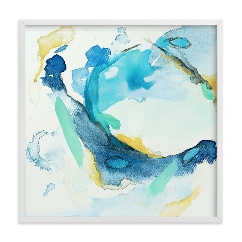 """Tide Pool #3"" - Art Print by Mya Bessette in beautiful frame options and a variety of sizes."