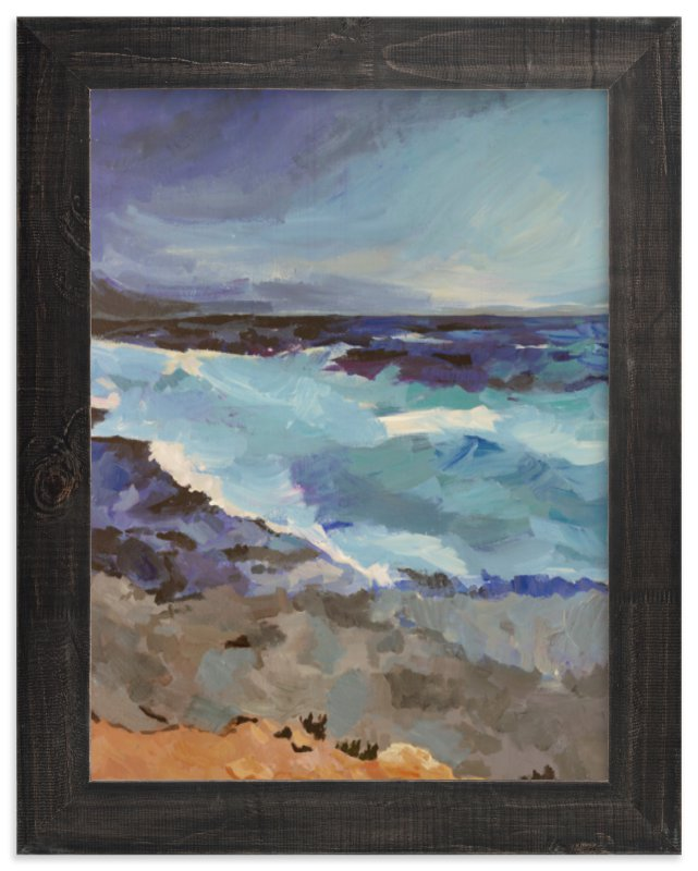 """West Coast"" - Art Print by Carol Dysart in beautiful frame options and a variety of sizes."