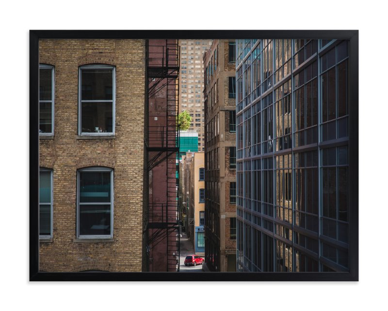 """Chicago Untitled, #1"" - Art Print by Oriana Koren in beautiful frame options and a variety of sizes."