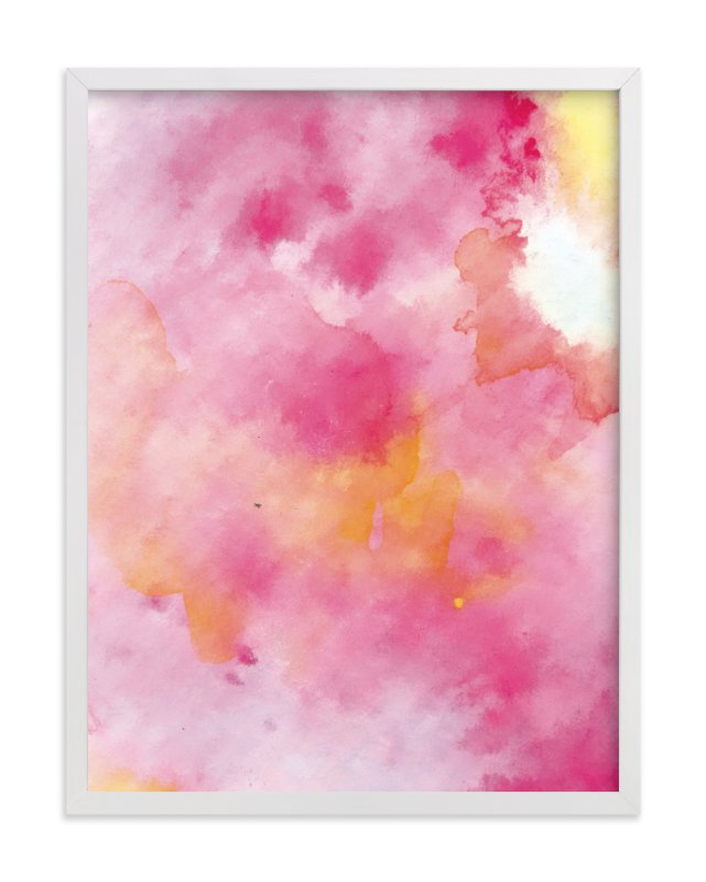 """CottonCandy"" - Art Print by Roopali in beautiful frame options and a variety of sizes."