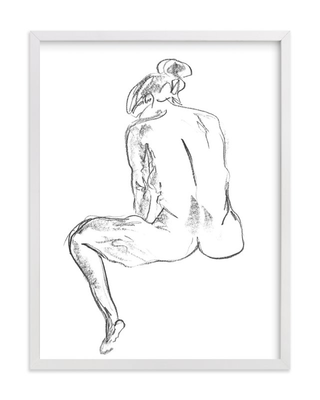 """Model7"" - Art Print by Miranda Mol in beautiful frame options and a variety of sizes."