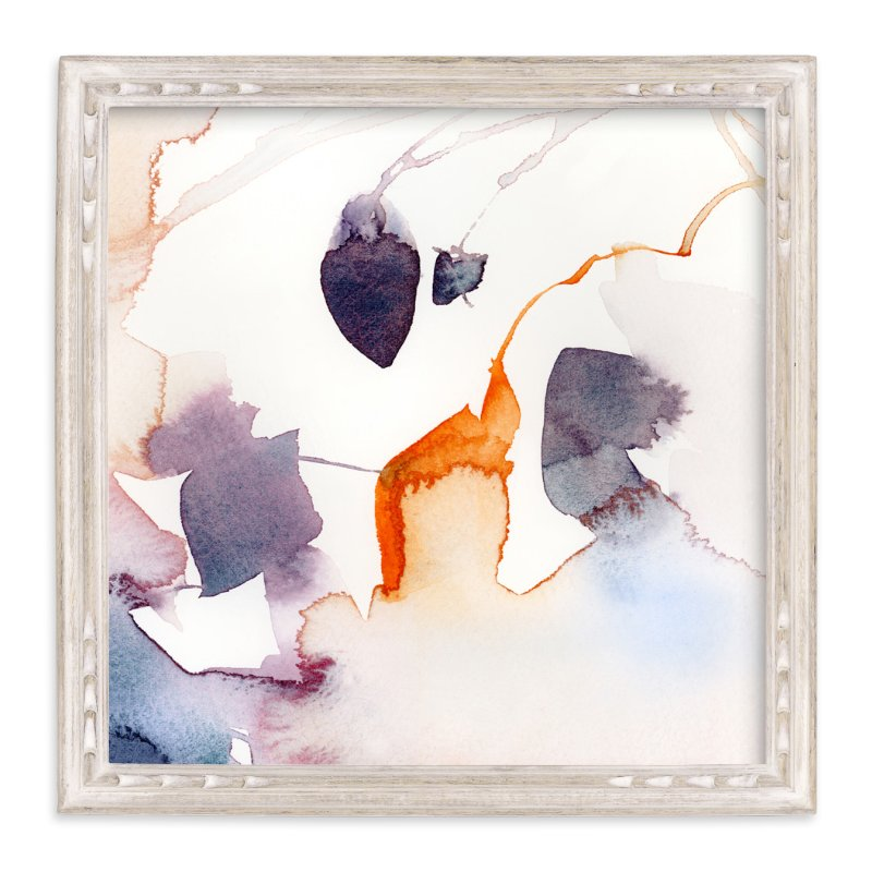 """""""Watercolor Abstract Flora Series : Fall 1"""" - Art Print by V E R Y M A R T A in beautiful frame options and a variety of sizes."""