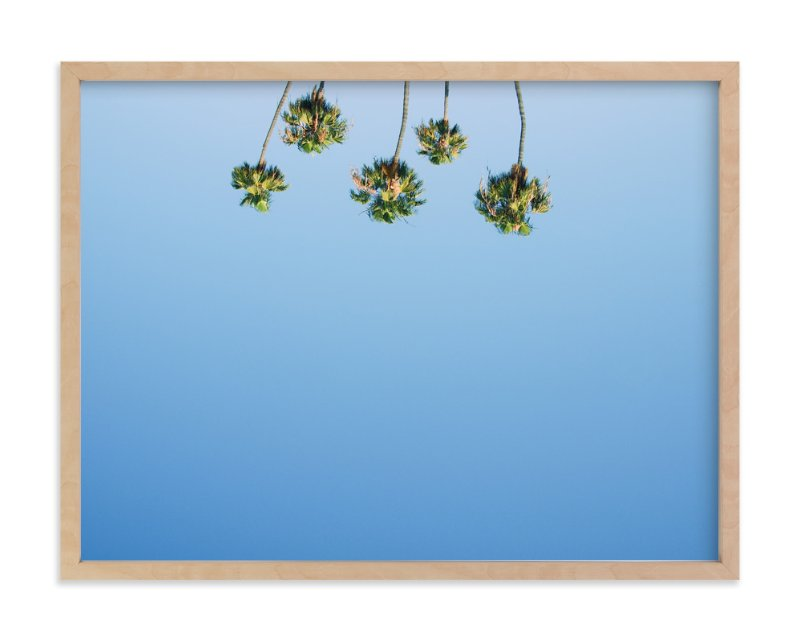 """Upside"" - Art Print by Alexandra Nazari in beautiful frame options and a variety of sizes."