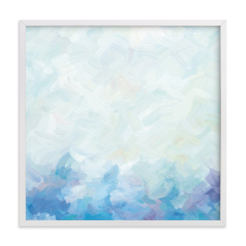 """Bermuda Blues"" - Art Print by Amy Hall in beautiful frame options and a variety of sizes."