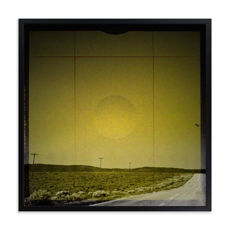 """""""The Road We Travel Two"""" - Art Print by Melissa Lund in beautiful frame options and a variety of sizes."""
