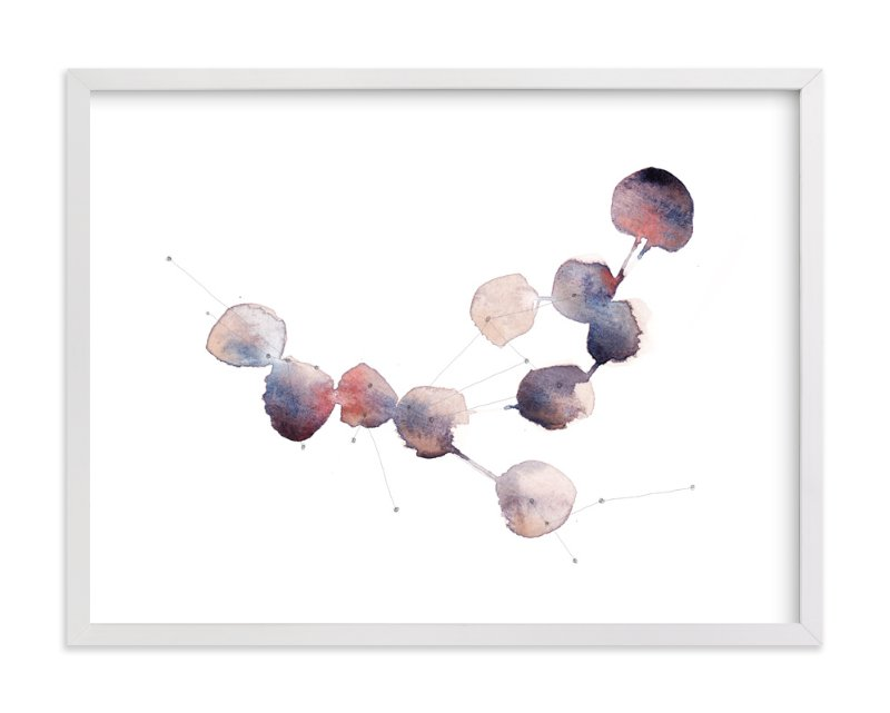 """""""Connection No. 1"""" - Art Print by Kelly Ventura in beautiful frame options and a variety of sizes."""