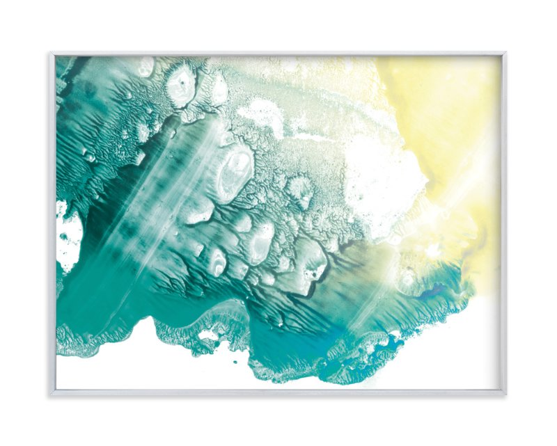 """""""Wave"""" - Art Print by Halik Helen in beautiful frame options and a variety of sizes."""
