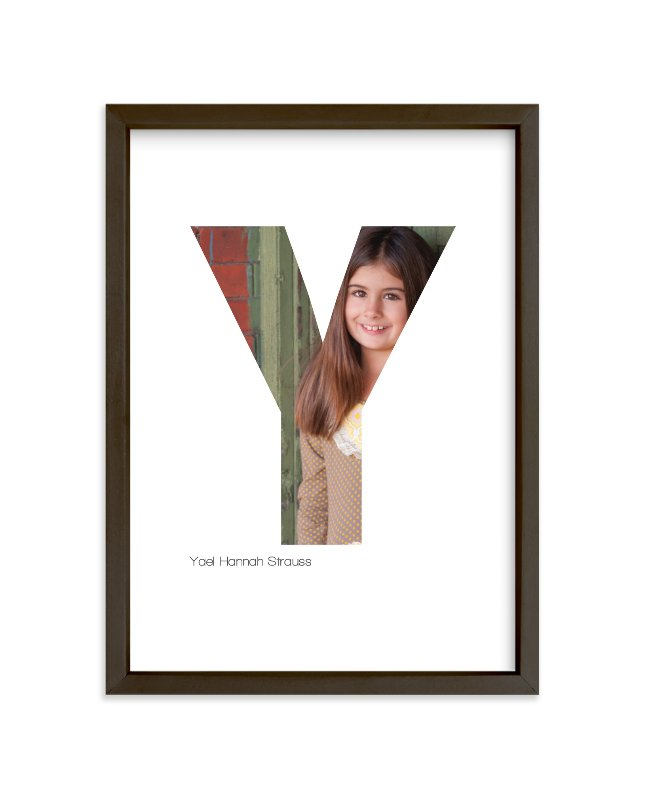 """""""Y - Within Letters of You"""" - Children's Custom Photo Art Print by Heather Francisco in beautiful frame options and a variety of sizes."""