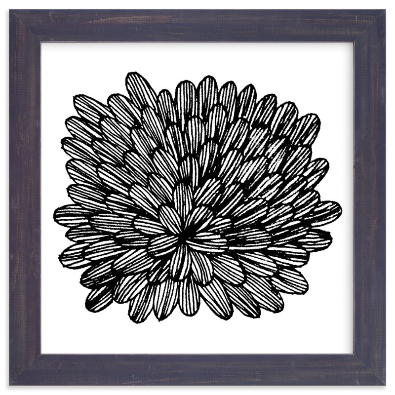 """eccentric leaves"" - Art Print by aticnomar in beautiful frame options and a variety of sizes."