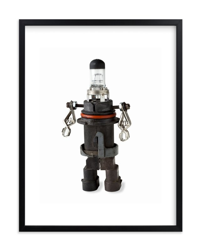 Robot 1 Wall Art Prints By Russell Stephanchick Minted