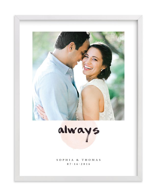 """""""Always"""" - Custom Photo Art Print by Qing Ji in beautiful frame options and a variety of sizes."""