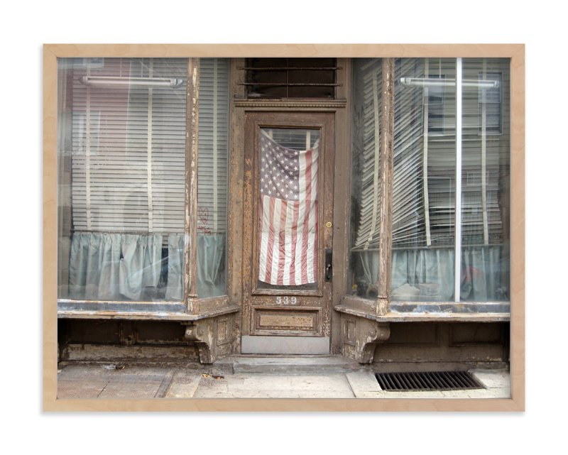 """""""America"""" - Art Print by Julie Grace Immink in beautiful frame options and a variety of sizes."""