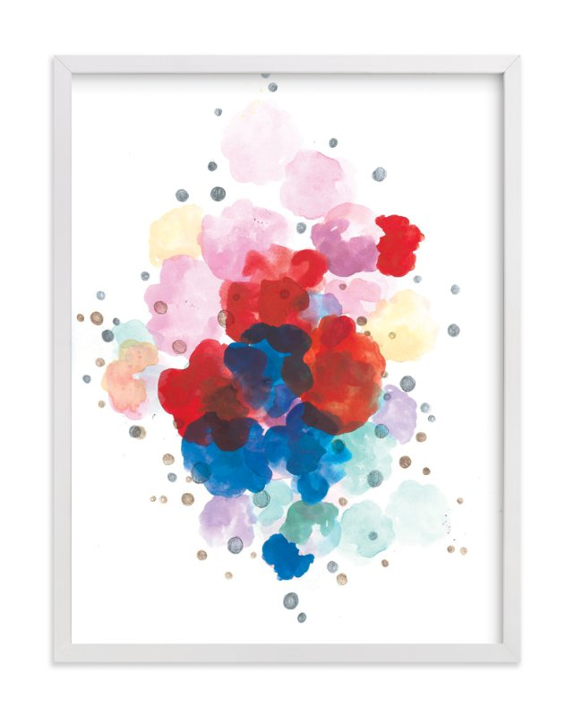 """""""Here and There"""" - Art Print by Sonal Nathwani in beautiful frame options and a variety of sizes."""