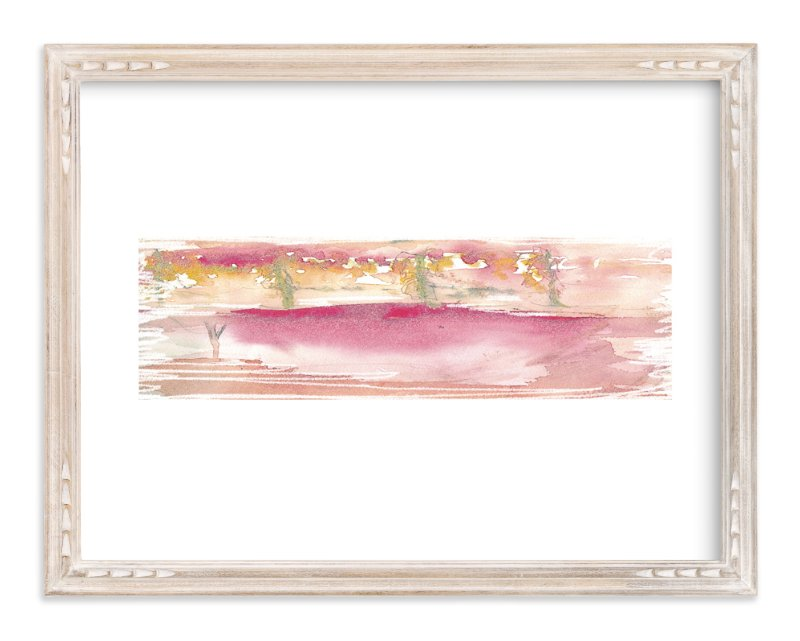 """I am home "" - Art Print by Neeta Sawhney in beautiful frame options and a variety of sizes."
