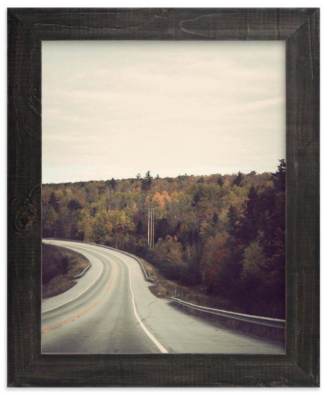 """The Road Home"" - Art Print by Gray Star Design in beautiful frame options and a variety of sizes."