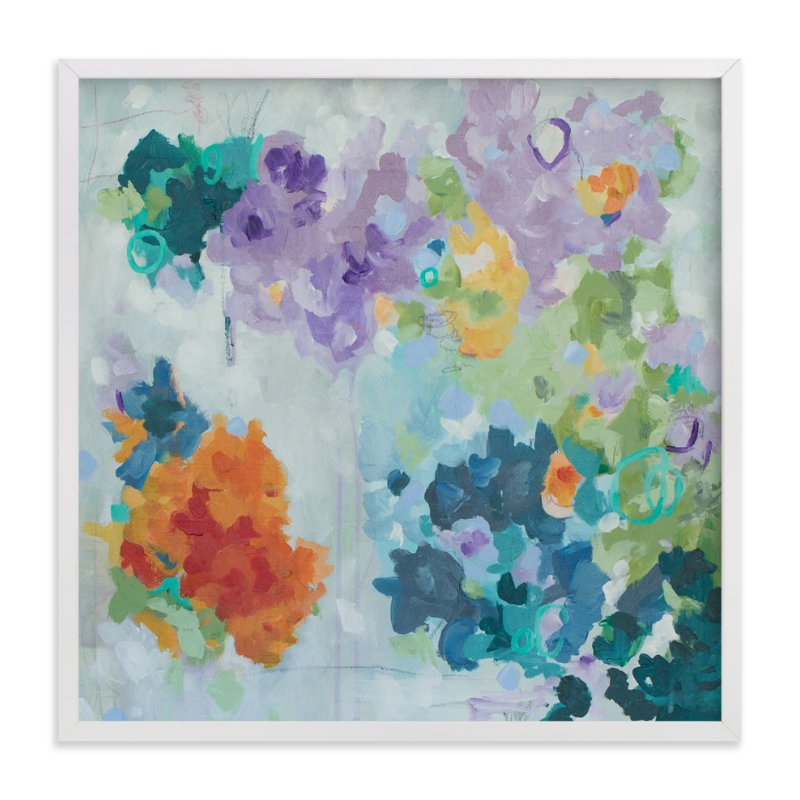 """Jumbled"" - Art Print by Blair Culwell Staky in beautiful frame options and a variety of sizes."