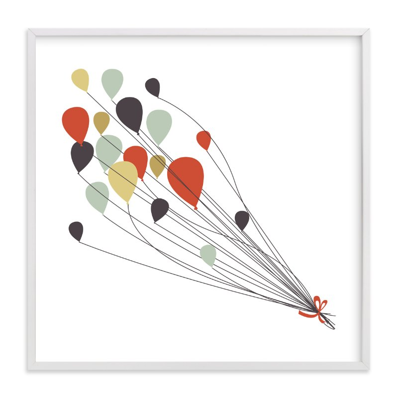 """Up and Away"" - Limited Edition Art Print by Sharon Rowan in beautiful frame options and a variety of sizes."