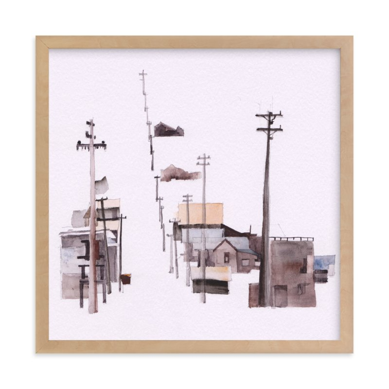 """""""Bodie Ghosttown"""" - Art Print by Viktoria Eperjesi in beautiful frame options and a variety of sizes."""