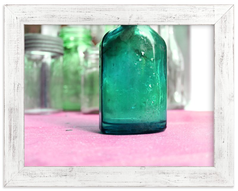"""""""Glassy"""" - Art Print by Debra Pruskowski in beautiful frame options and a variety of sizes."""