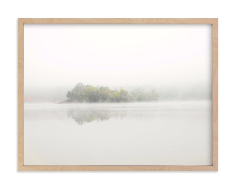 """""""The Island"""" - Limited Edition Art Print by S.L. Bird in beautiful frame options and a variety of sizes."""