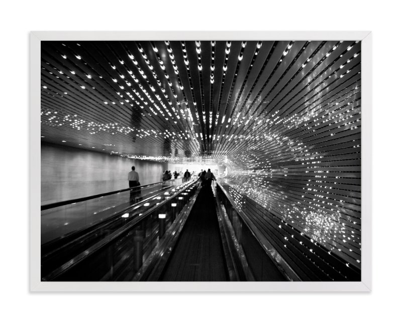 """""""Lighten-ing"""" - Art Print by van tsao in beautiful frame options and a variety of sizes."""