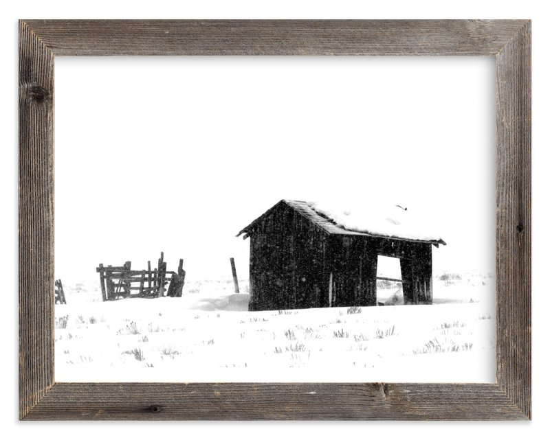 """Open Door"" - Art Print by Leslie Le Coq in beautiful frame options and a variety of sizes."