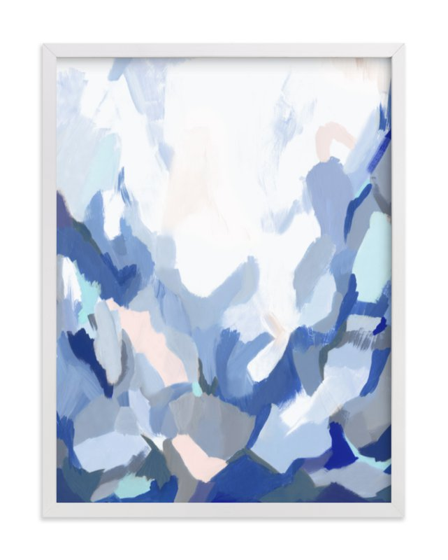 """""""Slopes"""" - Art Print by Melanie Severin in beautiful frame options and a variety of sizes."""