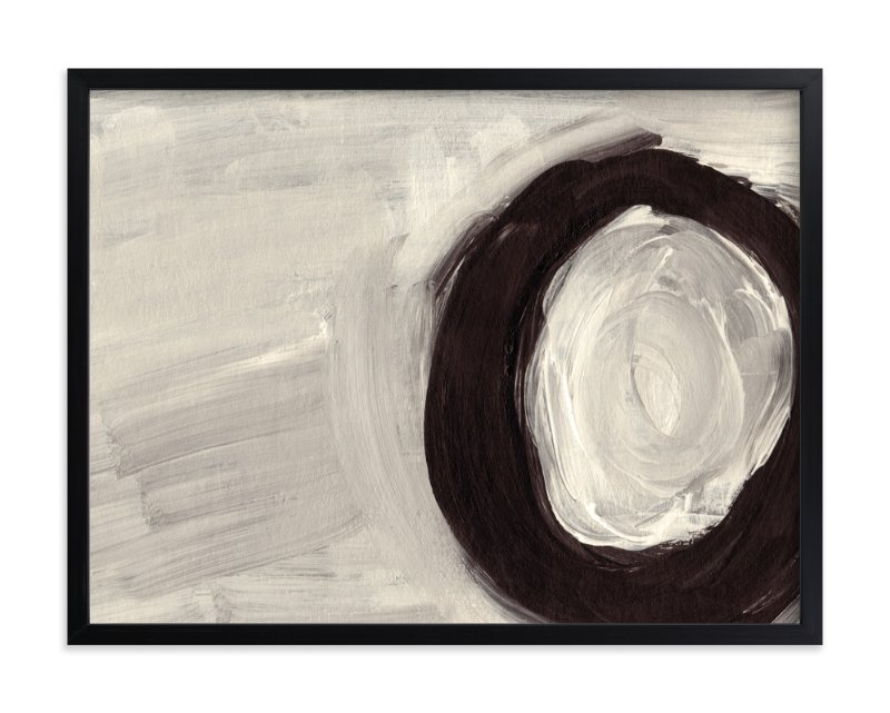 """Round and Round"" - Art Print by Christiana Hudson in beautiful frame options and a variety of sizes."