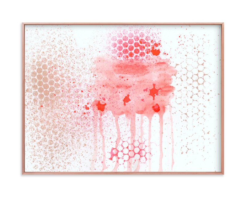 """""""Watermelon Love"""" - Art Print by Lauren Packard in beautiful frame options and a variety of sizes."""