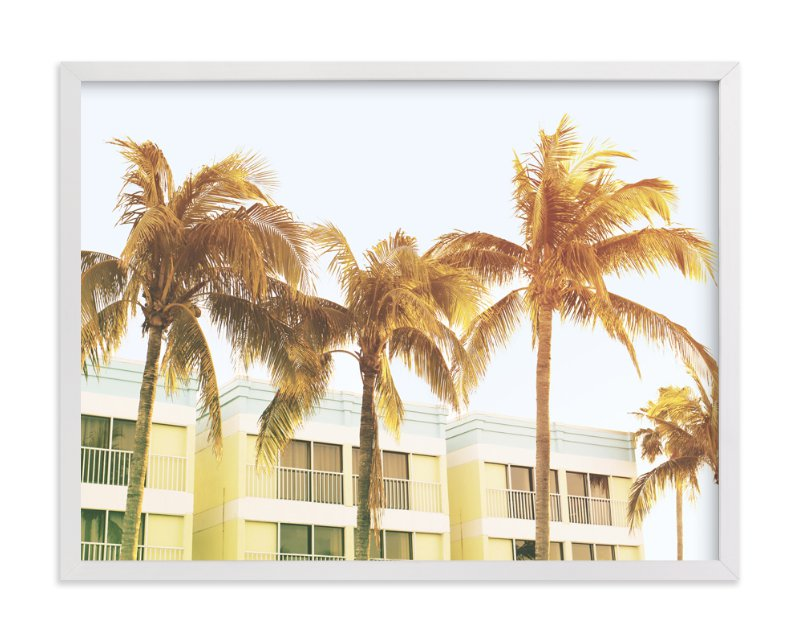 """""""on the beach"""" - Art Print by Baumbirdy in beautiful frame options and a variety of sizes."""
