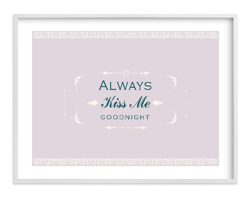 """Always"" - Limited Edition Art Print by Lori in beautiful frame options and a variety of sizes."