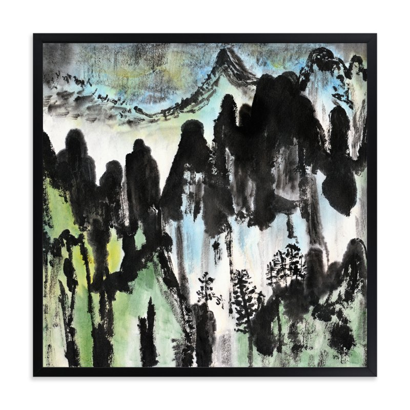 """""""Winter's Path"""" - Art Print by Stuart Heir in beautiful frame options and a variety of sizes."""