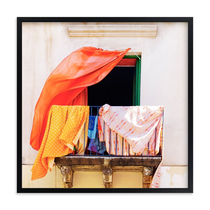"""""""A Summer in Lipari"""" - Art Print by Massimiliano Massimo Borelli in beautiful frame options and a variety of sizes."""