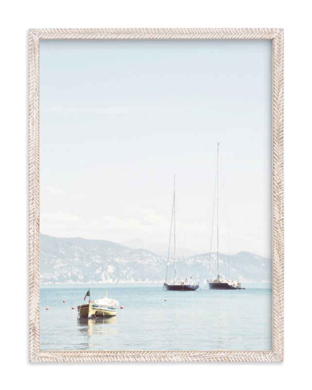 """""""Portofino Afternoon"""" - Art Print by Three Kisses Studio in beautiful frame options and a variety of sizes."""