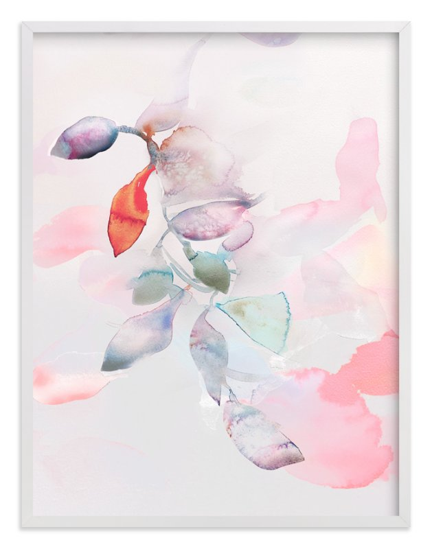 """""""Foliage Trails 2"""" - Art Print by V E R Y M A R T A in beautiful frame options and a variety of sizes."""