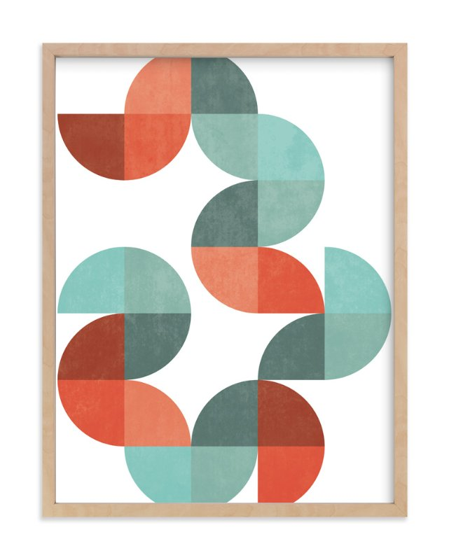 """Division Series 01"" - Limited Edition Art Print by Jennifer Morehead in beautiful frame options and a variety of sizes."