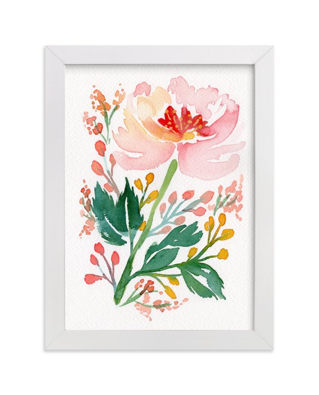 """""""Springtime in Marseilles"""" - Art Print by Natalie Malan in beautiful frame options and a variety of sizes."""