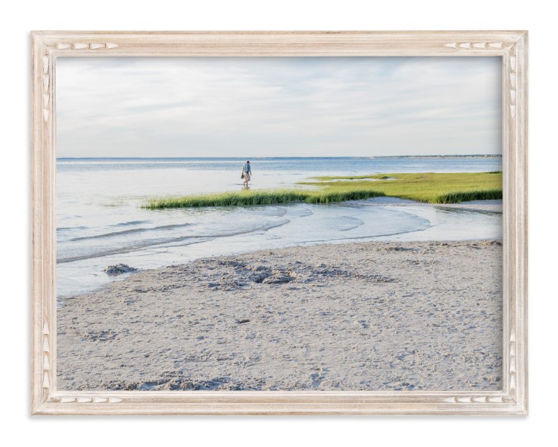 """""""Across the Wetland"""" - Art Print by Qing Ji in beautiful frame options and a variety of sizes."""