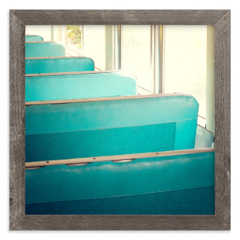 """Train Ride"" - Art Print by Smile Peace Love in beautiful frame options and a variety of sizes."